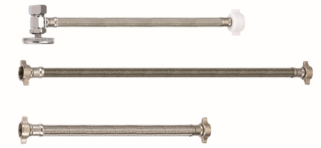Flexible metal hose for oil